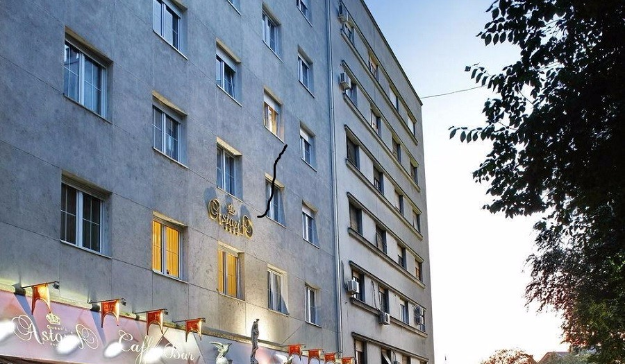 Queen 39 s astoria design hotel beograd belgrade beat for Design hotel queen astoria