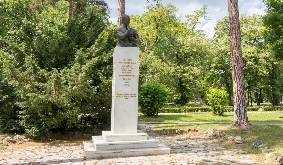 Znamenitosti Beograda Spomenik Arcibaldu Rajsu Belgrade Beat